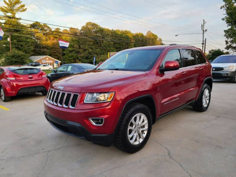 2014 Jeep Grand Cherokee for sale at DADA AUTO INC in Monroe NC