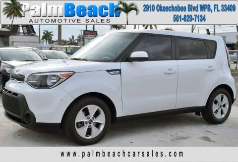 2016 Kia Soul for sale at Palm Beach Automotive Sales in West Palm Beach FL