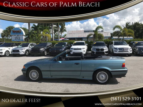 1994 BMW 3 Series for sale at Classic Cars of Palm Beach in Jupiter FL