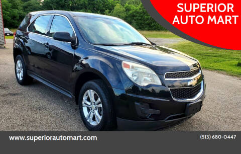 2012 Chevrolet Equinox for sale at SUPERIOR AUTO MART in Amelia OH