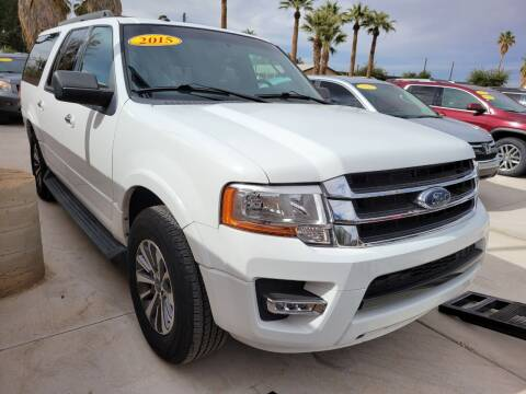 2015 Ford Expedition EL for sale at A AND A AUTO SALES in Gadsden AZ
