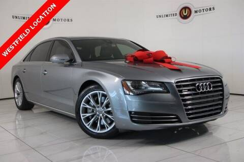 2013 Audi A8 L for sale at INDY'S UNLIMITED MOTORS - UNLIMITED MOTORS in Westfield IN