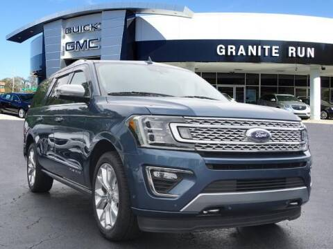 2019 Ford Expedition MAX for sale at GRANITE RUN PRE OWNED CAR AND TRUCK OUTLET in Media PA