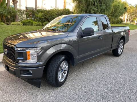 2018 Ford F-150 for sale at Donada  Group Inc in Arleta CA