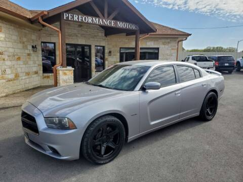 2013 Dodge Charger for sale at Performance Motors Killeen Second Chance in Killeen TX