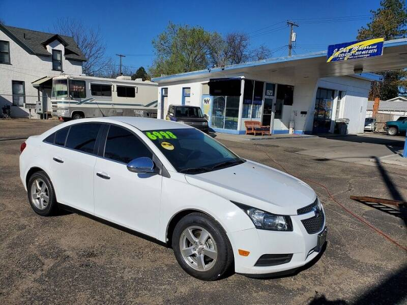 2014 Chevrolet Cruze for sale at J Sky Motors in Nampa ID