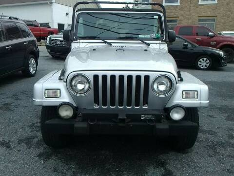 2003 Jeep Wrangler for sale at Paul's Auto Inc in Bethlehem PA