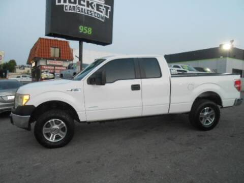 2013 Ford F-150 for sale at Rocket Car sales in Covina CA