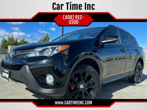 2015 Toyota RAV4 for sale at Car Time Inc in San Jose CA