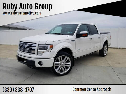 2013 Ford F-150 for sale at Ruby Auto Group in Hudson OH
