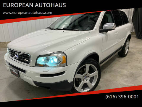 2012 Volvo XC90 for sale at EUROPEAN AUTOHAUS in Holland MI