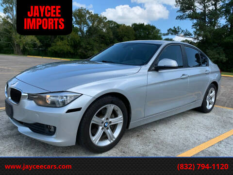 2014 BMW 3 Series for sale at JAYCEE IMPORTS in Houston TX