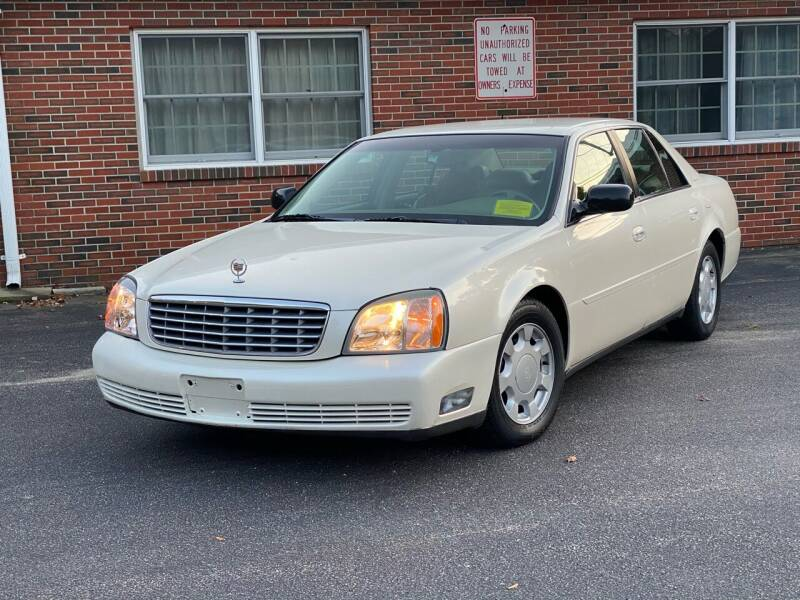2003 Cadillac DeVille for sale at Eagle Auto Sales LLC in Holbrook MA