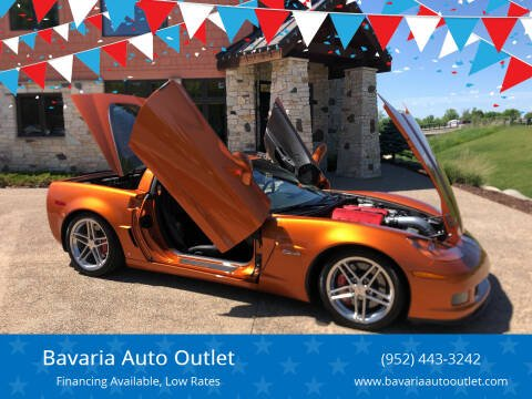 2007 Chevrolet Corvette for sale at Bavaria Auto Outlet in Victoria MN