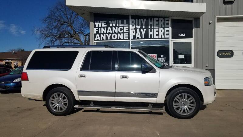 2011 Lincoln Navigator L for sale at STERLING MOTORS in Watertown SD