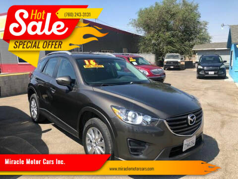 2016 Mazda CX-5 for sale at Miracle Motor Cars Inc. in Victorville CA