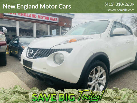 2013 Nissan JUKE for sale at New England Motor Cars in Springfield MA