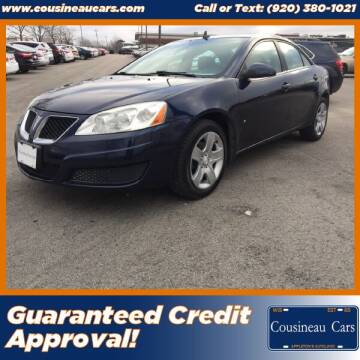 2009 Pontiac G6 for sale at CousineauCars.com in Appleton WI