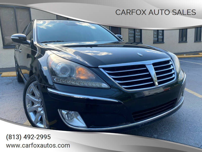 2012 Hyundai Equus for sale at Carfox Auto Sales in Tampa FL