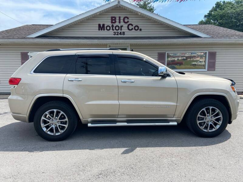 2014 Jeep Grand Cherokee for sale at Bic Motors in Jackson MO