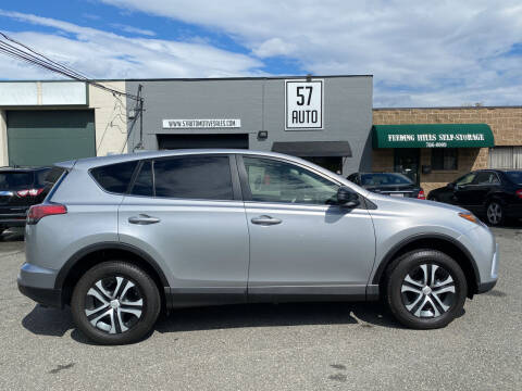 2018 Toyota RAV4 for sale at 57 AUTO in Feeding Hills MA