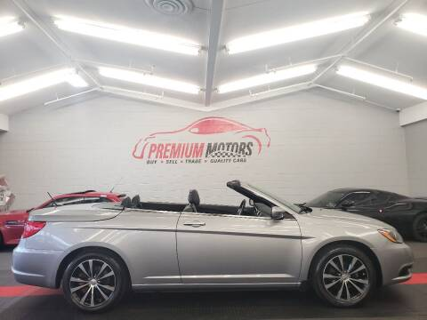 2013 Chrysler 200 Convertible for sale at Premium Motors in Villa Park IL
