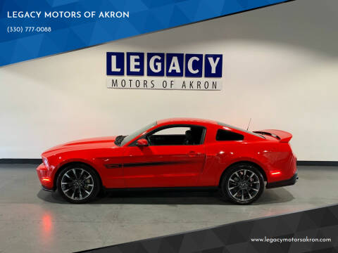 2012 Ford Mustang for sale at LEGACY MOTORS OF AKRON in Akron OH