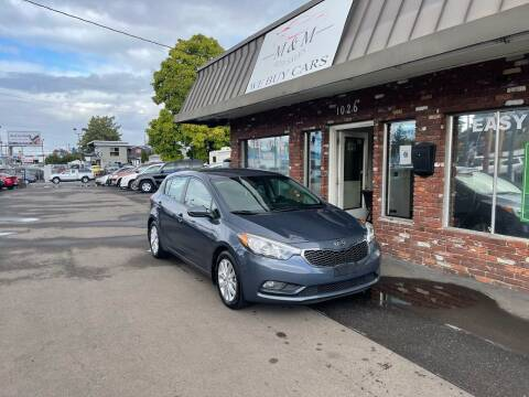 2016 Kia Forte5 for sale at M&M Auto Sales in Portland OR