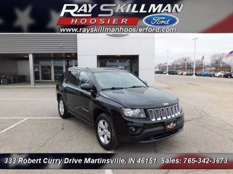 2017 Jeep Compass for sale at Ray Skillman Hoosier Ford in Martinsville IN