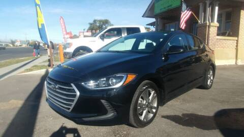 2018 Hyundai Elantra for sale at Everett Automotive Group in Pleasant Grove UT