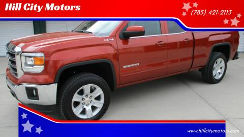 2015 GMC Sierra 1500 for sale at Hill City Motors in Hill City KS