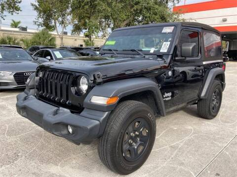 2018 Jeep Wrangler for sale at Florida Fine Cars - West Palm Beach in West Palm Beach FL
