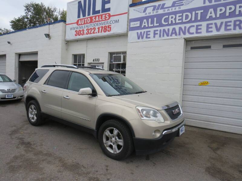 2007 GMC Acadia for sale at Nile Auto Sales in Denver CO