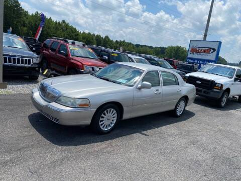 2005 Lincoln Town Car for sale at Billy Ballew Motorsports in Dawsonville GA