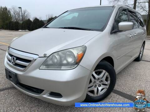2006 Honda Odyssey for sale at IMPORTS AUTO GROUP in Akron OH