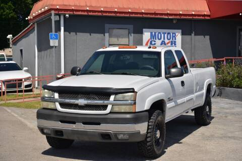 2003 Chevrolet Silverado 2500HD for sale at Motor Car Concepts II - Kirkman Location in Orlando FL