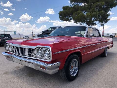 1964 Chevrolet Impala for sale at Eastside Auto Sales in El Paso TX