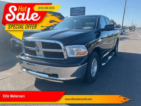2011 RAM Ram Pickup 1500 for sale at Elite Motorcars in Smyrna TN