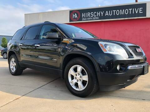 2012 GMC Acadia for sale at Hirschy Automotive in Fort Wayne IN