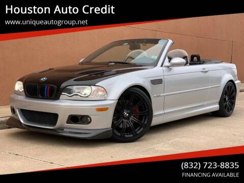 2006 BMW M3 for sale at Houston Auto Credit in Houston TX
