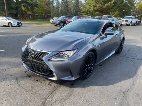 2015 Lexus RC 350 for sale at Northstar Auto Sales LLC in Ham Lake MN