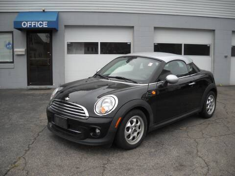 2012 MINI Cooper Coupe for sale at Best Wheels Imports in Johnston RI