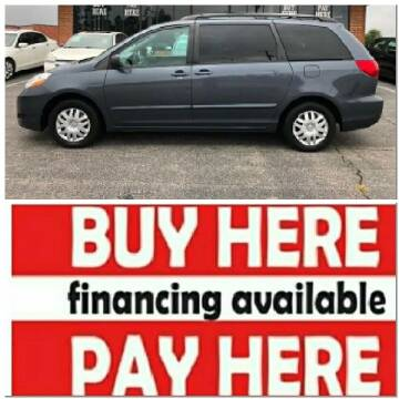 2006 Toyota Sienna for sale at BP Auto Finders in Durham NC