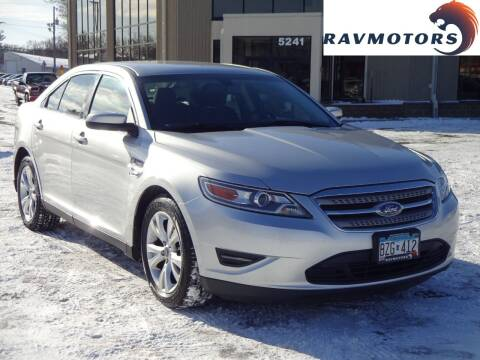 2010 Ford Taurus for sale at RAVMOTORS 2 in Crystal MN