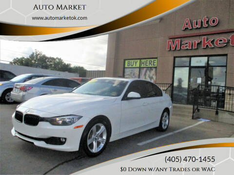 2015 BMW 3 Series for sale at Auto Market in Oklahoma City OK