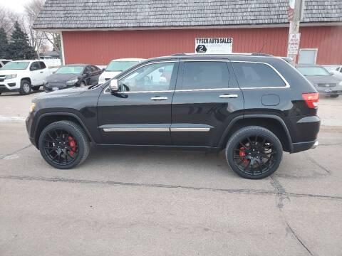 2012 Jeep Grand Cherokee for sale at Tyser Auto Sales in Dorchester NE