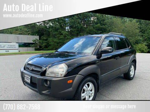 2007 Hyundai Tucson for sale at Auto Deal Line in Alpharetta GA