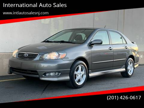 2005 Toyota Corolla for sale at International Auto Sales in Hasbrouck Heights NJ