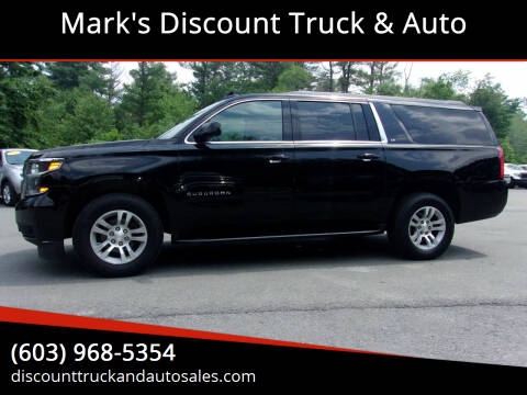 2017 Chevrolet Suburban for sale at Mark's Discount Truck & Auto in Londonderry NH