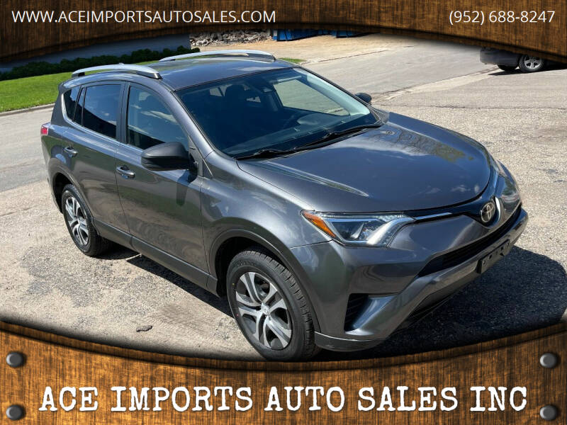 2018 Toyota RAV4 for sale at ACE IMPORTS AUTO SALES INC in Hopkins MN